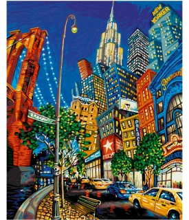 The Big Apple - Miguel Freitas (40 x 50 cm)